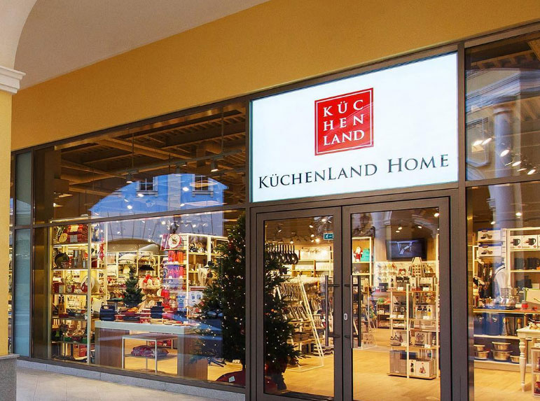 Rusland SP посадила KuchenLand в Outlet Village Pulkovo